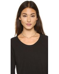 Ela Rae - Metallic Libi Necklace - Lyst