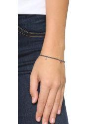 Shashi - Black Lilu Bracelet - Lyst
