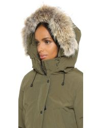 Canada Goose Gray Rossclair Shell Parka Jacket