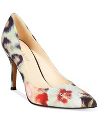 Nine West Multicolor Flax Pointed Toe Pumps