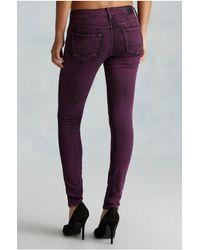 True Religion | Pink Halle Super Skinny Womens Jean | Lyst