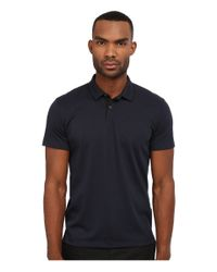 Theory | Blue Sandhurst.current Pq Polo for Men | Lyst
