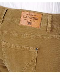 Napapijri | Brown Casual Pants | Lyst
