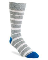 Paul Smith - Gray Multi Stripe Socks for Men - Lyst