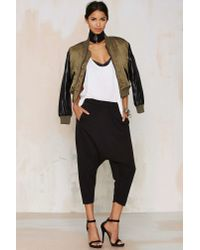 One Teaspoon - Black Turn Up The Hemp Trackies - Lyst