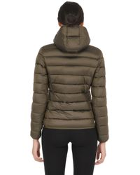 Colmar | Green Shiny Nylon Down Jacket | Lyst
