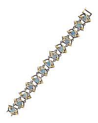 Armenta | Multicolor Wrapped Boulder Opal Link Bracelet | Lyst