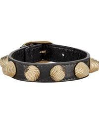 Balenciaga | Metallic Arena Giant Stud Bracelet | Lyst