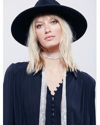 Free People | Natural Fp One Bianca Sequin Skinny Scarf | Lyst