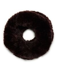 Tory Burch - Brown Original Fur Funnel - Lyst