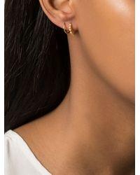 Maria Black | Metallic 'klaxon Twirl' Earrings | Lyst