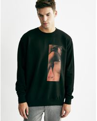 The Idle Man - Black Red Eyes Sweat for Men - Lyst