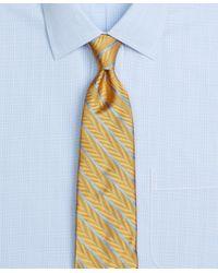 Brooks Brothers - Blue Herringbone Stripe Tie for Men - Lyst