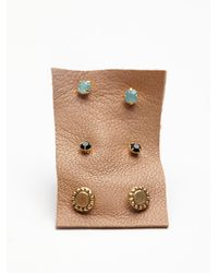 Free People | Multicolor Tiny 6 Pack Studs | Lyst