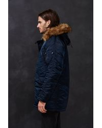 Alpha Industries Blue N-3b Slim-fit Jacket for men