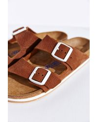 Birkenstock Brown Arizona Sport Soft Footbed Slide