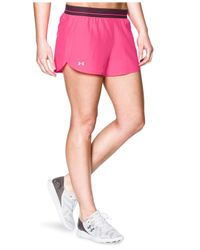 Under Armour | Black Ua Perfect Pace Running Short | Lyst