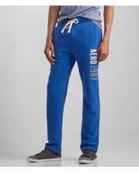 Aéropostale | Blue Aero 1987 Slim Straight Sweats | Lyst