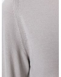 Rick Owens | Natural Crew-neck Sweater | Lyst