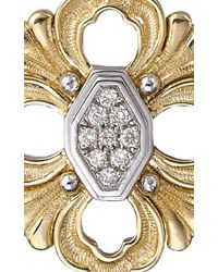 Buccellati | Metallic Opera Pendant Earrings With Diamonds In Yellow Gold | Lyst