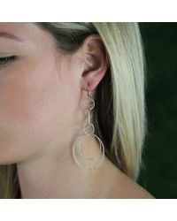 Carolina Bucci | White Sparkly Link Earrings | Lyst