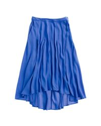 Madewell Blue Willowbrush Skirt
