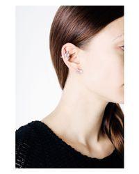 Henri Bendel - Metallic Socialite Cluster Clip Stud Earrings - Lyst