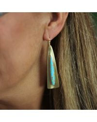 Irene Neuwirth | Green Kingman Turquoise Earrings | Lyst