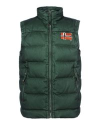 Napapijri | Green Vest for Men | Lyst