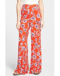 Billabong | Red 'heart Strayed' Palazzo Pants | Lyst