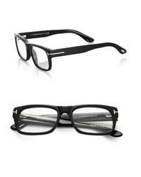 tom ford 5253 bold optical frames in black for lyst
