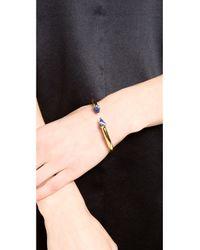 Vita Fede   Blue Mini Titan Stone Bracelet - Gold/Lapis   Lyst