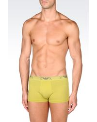 Emporio Armani | Green Set Of Two Boxers for Men | Lyst
