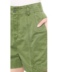 Marc By Marc Jacobs - Green Classic Cotton Shorts - Deep Blue - Lyst