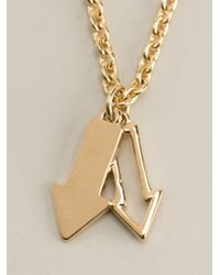 Marc By Marc Jacobs | Metallic 'pointing Bow Tie' Necklace | Lyst