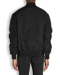 Fear Of God Black Cotton Blend Bomber Jacket for men