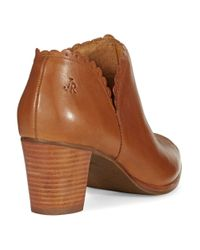 Jack Rogers | Brown Marianna Booties | Lyst