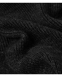 AllSaints - Black Spinn Scarf for Men - Lyst