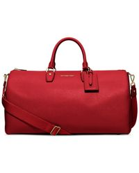 Michael Kors | Red Michael Jet Set Large Weekender | Lyst