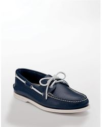 Sperry Top-Sider | Blue A/o 2-eye Color Wash 2 for Men | Lyst