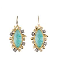 Alexis Bittar - Blue Mother Of Pearl Marquis Drop Amazon Doublet Earring You Might Also Like - Lyst
