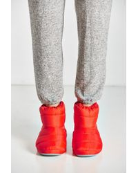 Urban Outfitters | Red Nylon Bootie Slipper | Lyst
