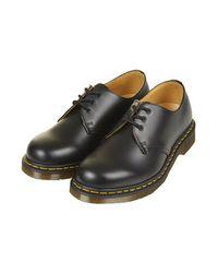 TOPSHOP | Black Dr. Martens Original 1461 Boots | Lyst