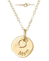 Lord & Taylor | Metallic 14 Kt. Yellow Gold Layered Charm Necklace | Lyst