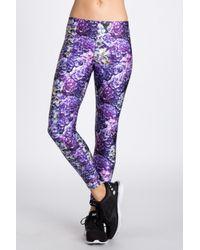 Terez - Purple Printed Legging - Lyst