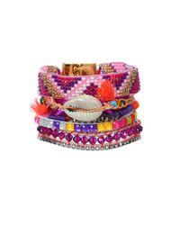 Hipanema | Purple Bracelet Fluo | Lyst