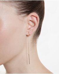 Maria Black Metallic Gish Dc Twirl Earring