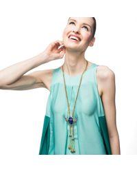Lulu Frost | Metallic Eternal Life Tassel Necklace | Lyst