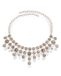 Monica Vinader - Gray Siren Bib Necklace - Lyst