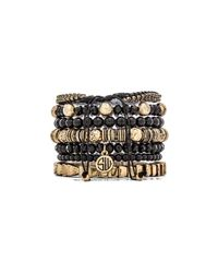 Samantha Wills - Black Moments By The Moonlight Bracelet Set - Lyst